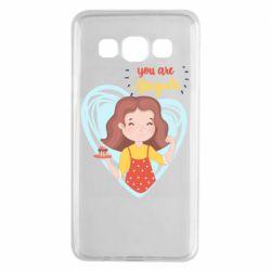 Чохол для Samsung A3 2015 You are super girl