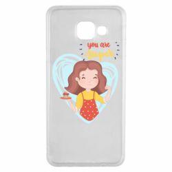 Чохол для Samsung A3 2016 You are super girl