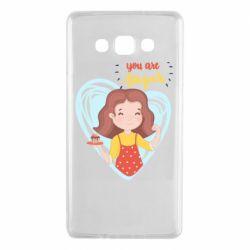 Чохол для Samsung A7 2015 You are super girl