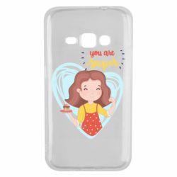 Чохол для Samsung J1 2016 You are super girl