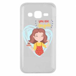 Чохол для Samsung J2 2015 You are super girl