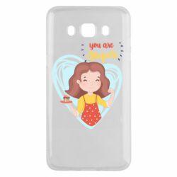Чохол для Samsung J5 2016 You are super girl