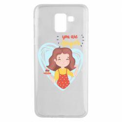 Чохол для Samsung J6 You are super girl