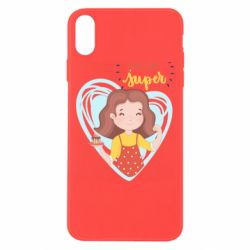 Чохол для iPhone Xs Max You are super girl