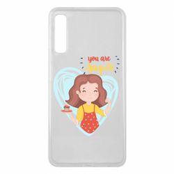 Чохол для Samsung A7 2018 You are super girl