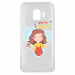 Чохол для Samsung J2 Core You are super girl