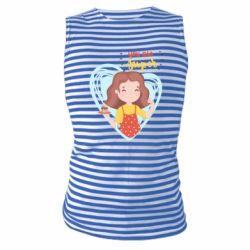 Майка-тільняшка You are super girl