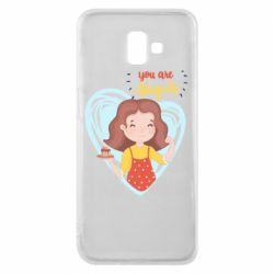 Чохол для Samsung J6 Plus 2018 You are super girl