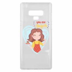 Чехол для Samsung Note 9 You are super girl