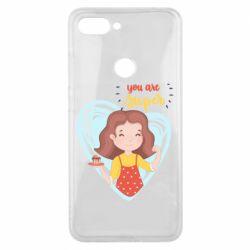 Чехол для Xiaomi Mi8 Lite You are super girl