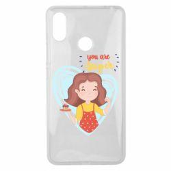 Чехол для Xiaomi Mi Max 3 You are super girl