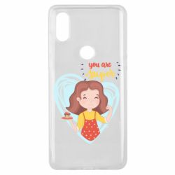 Чехол для Xiaomi Mi Mix 3 You are super girl