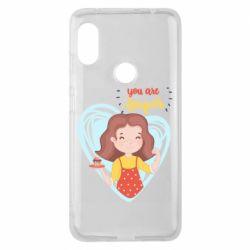 Чехол для Xiaomi Redmi Note 6 Pro You are super girl