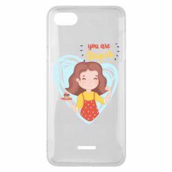 Чехол для Xiaomi Redmi 6A You are super girl