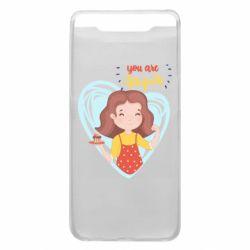 Чохол для Samsung A80 You are super girl