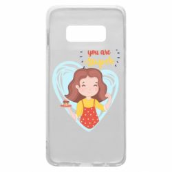 Чехол для Samsung S10e You are super girl