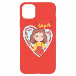 Чехол для iPhone 11 Pro You are super girl