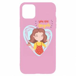 Чехол для iPhone 11 Pro Max You are super girl
