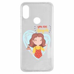 Чехол для Xiaomi Redmi Note 7 You are super girl