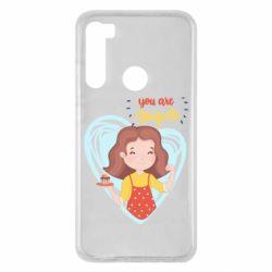 Чехол для Xiaomi Redmi Note 8 You are super girl