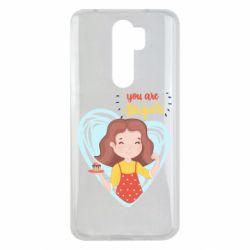Чехол для Xiaomi Redmi Note 8 Pro You are super girl