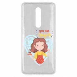 Чехол для Xiaomi Mi9T You are super girl