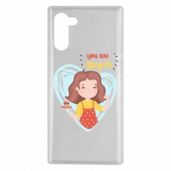 Чехол для Samsung Note 10 You are super girl