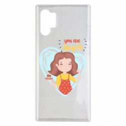 Чехол для Samsung Note 10 Plus You are super girl