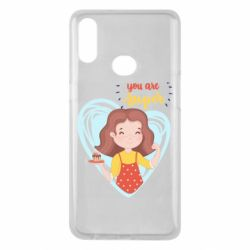 Чехол для Samsung A10s You are super girl