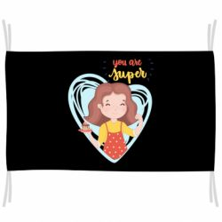 Прапор You are super girl