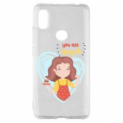 Чехол для Xiaomi Redmi S2 You are super girl