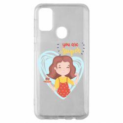 Чохол для Samsung M30s You are super girl