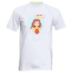 Чоловіча спортивна футболка You are super girl