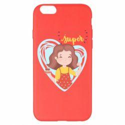 Чохол для iPhone 6 Plus/6S Plus You are super girl