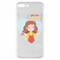 Чохол для iPhone 7 Plus You are super girl