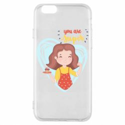 Чехол для iPhone 6/6S You are super girl