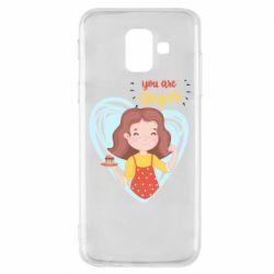 Чохол для Samsung A6 2018 You are super girl