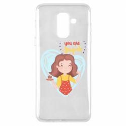Чохол для Samsung A6+ 2018 You are super girl