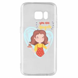 Чохол для Samsung S7 You are super girl