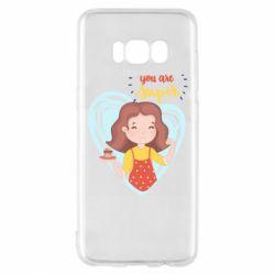 Чохол для Samsung S8 You are super girl