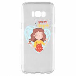 Чохол для Samsung S8+ You are super girl