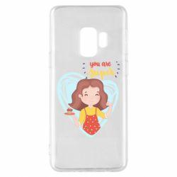 Чохол для Samsung S9 You are super girl