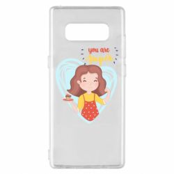 Чехол для Samsung Note 8 You are super girl