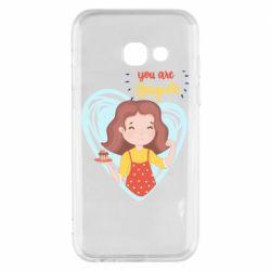 Чохол для Samsung A3 2017 You are super girl