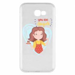 Чохол для Samsung A7 2017 You are super girl