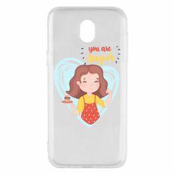 Чохол для Samsung J5 2017 You are super girl
