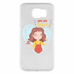 Чохол для Samsung S6 You are super girl