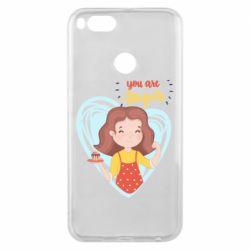 Чехол для Xiaomi Mi A1 You are super girl