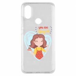 Чехол для Xiaomi Mi A2 You are super girl