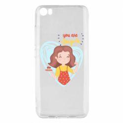 Чехол для Xiaomi Mi5/Mi5 Pro You are super girl